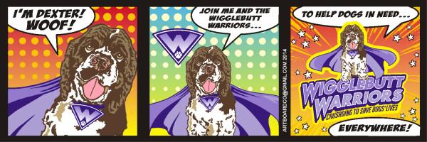 Wigglebutt Warriors Comic Strip 2014