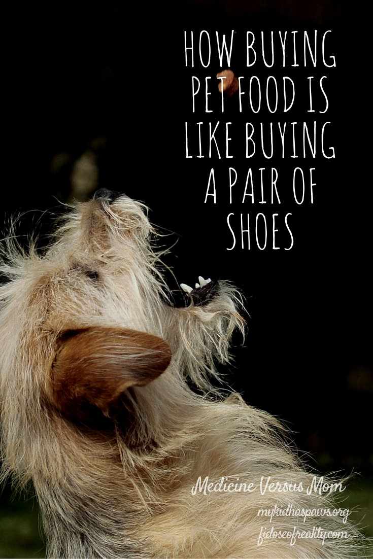 How Buying Pet Food Is Like Buying a Pair of Shoes