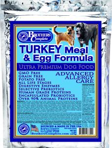 Turkey Meal & Egg Formula