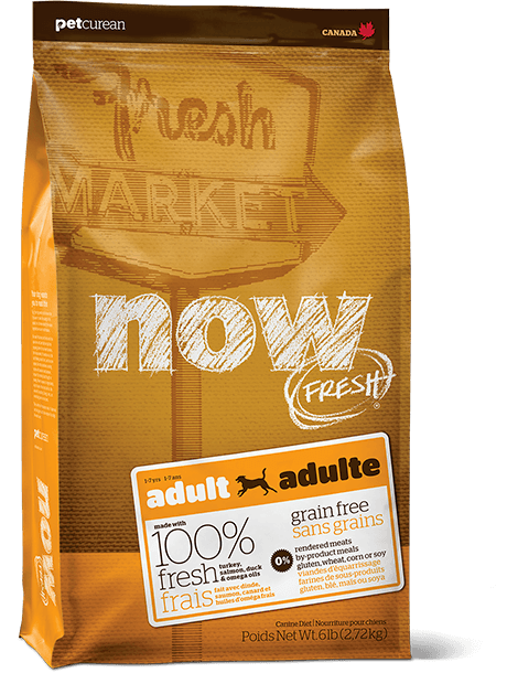 Win a 25lb bag of Petcurean - NOW Fresh Grain-Free Adult Dog Recipe