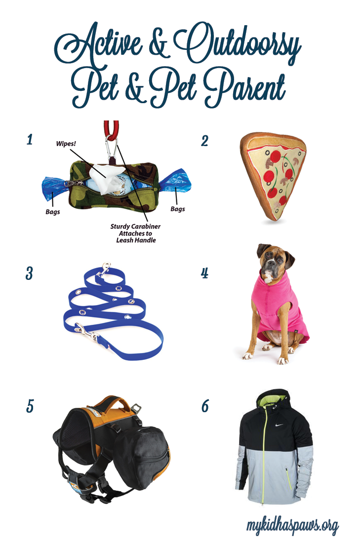 Holiday Gift Guide for the Outdoorsy or Athletic Pet or Pet Parent