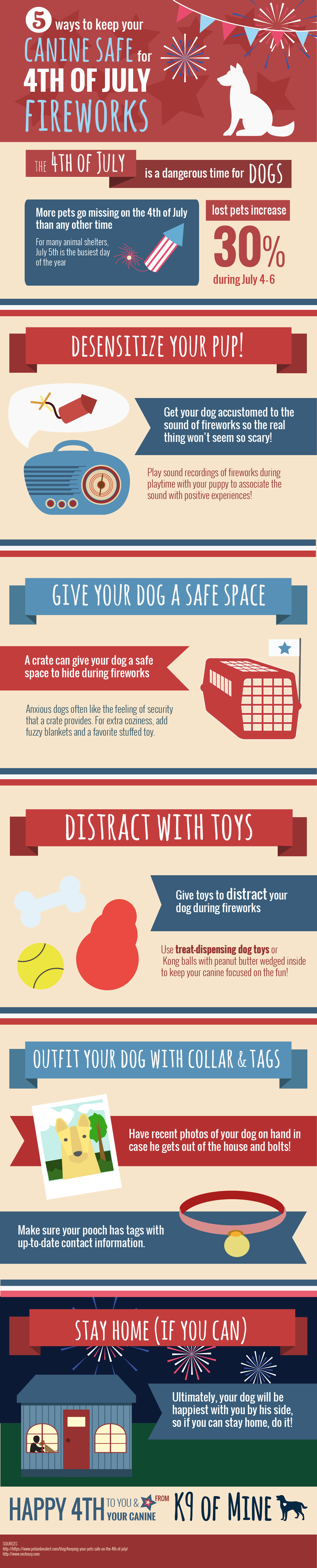 Preparing Your Pet for the 4th of July